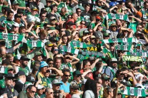 5 goals in 25 minutes put Timbers very close to playoff berth